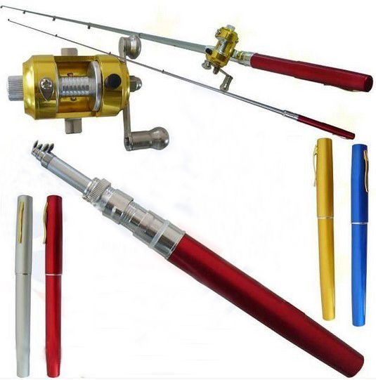 鱼竿绕线器图解