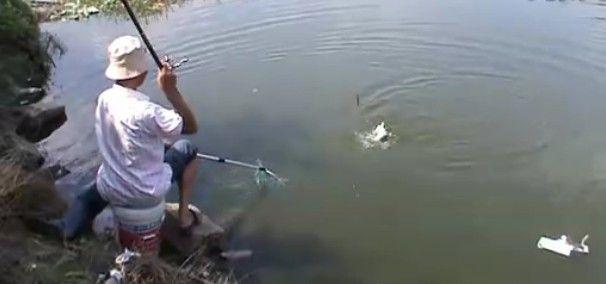台钓溜鱼技巧 - 铁鱼钓鱼