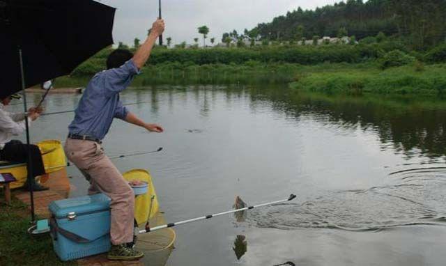 台钓钓底水调漂图解